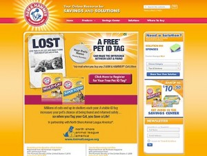 Arm And Hammer Cat Litter Free Pet Id Tag